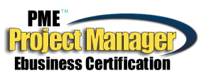 e-Business project management certification logo